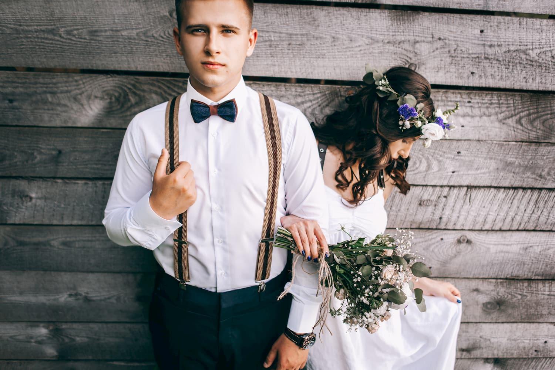 tenue de mariage